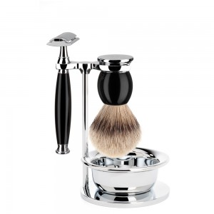 Set barba Muhle Sophist nero-6773